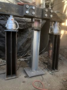 Structual Column Replacement - Newmont Mine