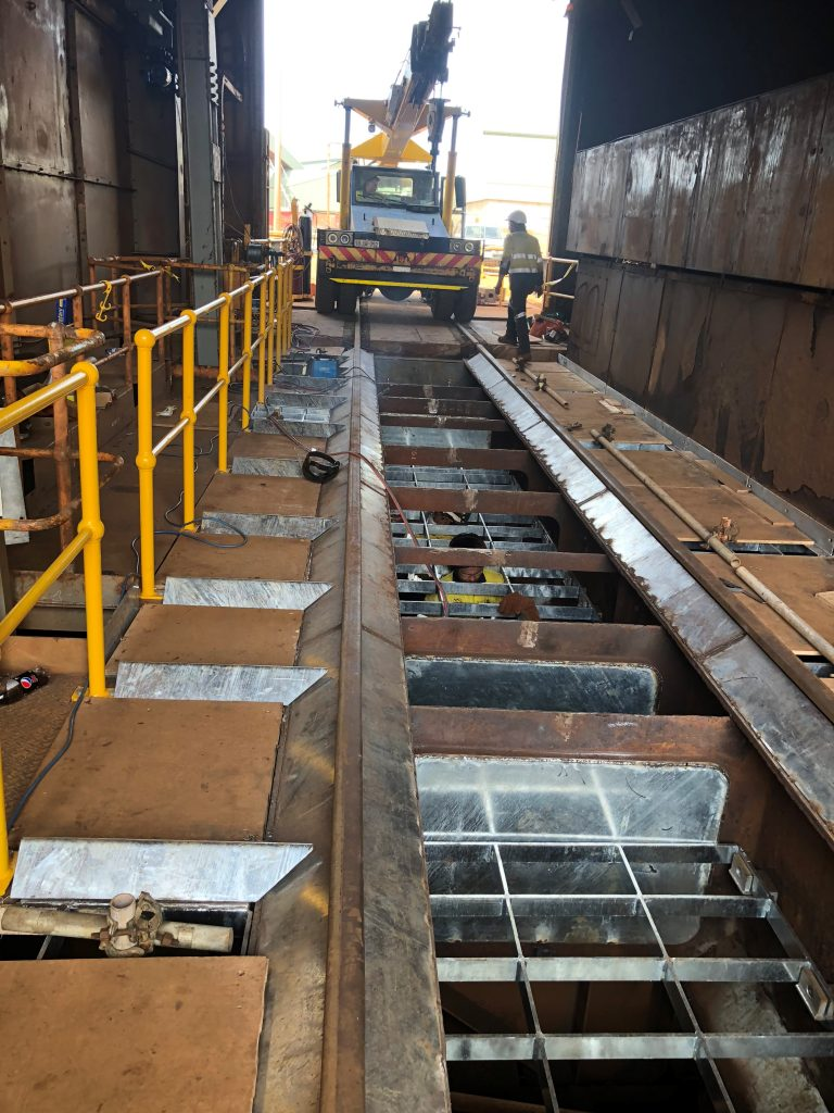 Train Carriage Load out Modification at Esperance Port