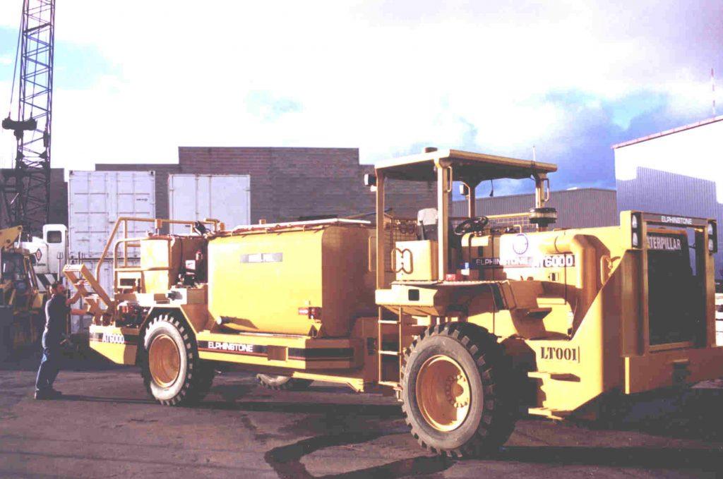 Caterpillar / Elphinstone AT6000 underground Fuel / Lube truck